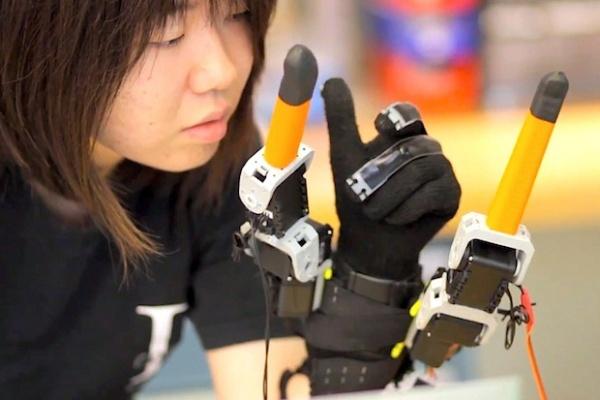 Дополнительная пара пальцев к вашей руке
