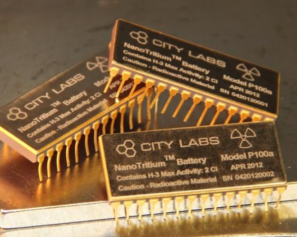 NanoTritium бетагальванический аккумулятор