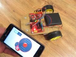 RemoteXY: онлайн конструктор систем управления Arduino со смартфона