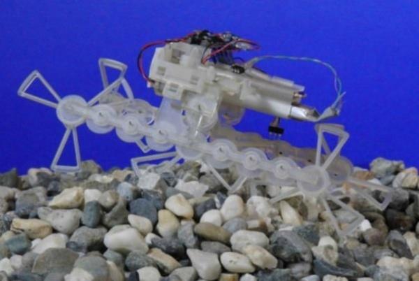 STAR - крошечный робот - 2